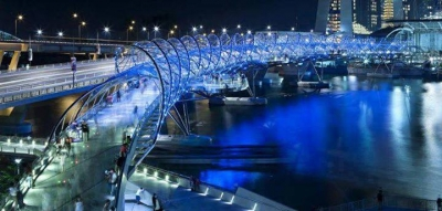 Helix Bridge – Singapore